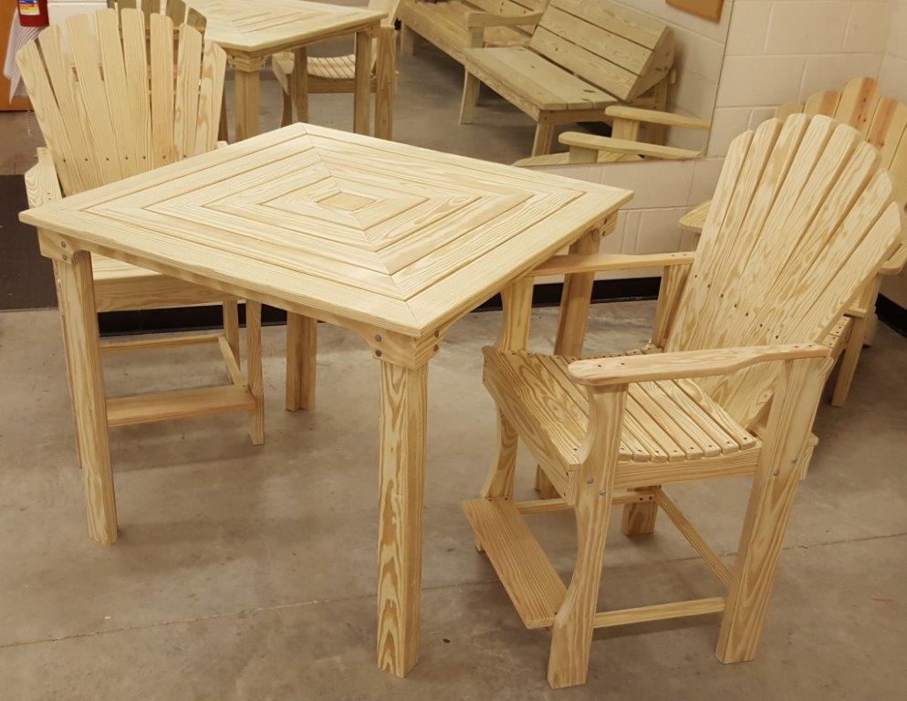 Tall Deck Table
