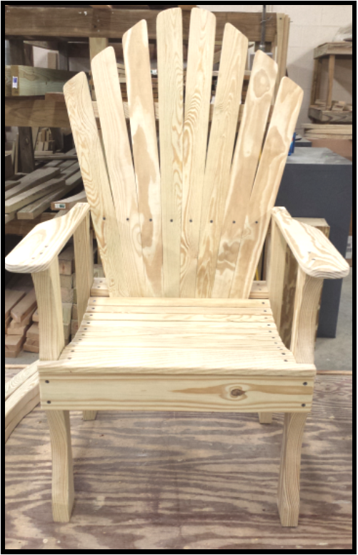 Carobell Station Club Enterprise Woodshop Country Chair