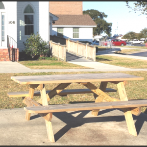 Carobell Station Club Enterprise Garden Picnic Table