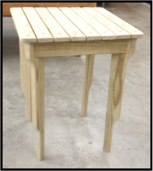 Carobell Station Club Enterprise Garden Side Table